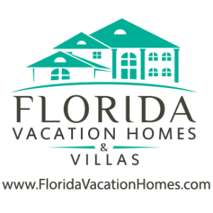 florida vacation homes round logo