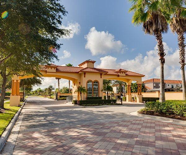 Bella Vida Resort Entrance