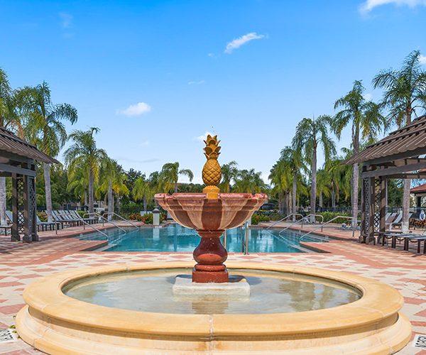 Bella Vida Poolside Fountain
