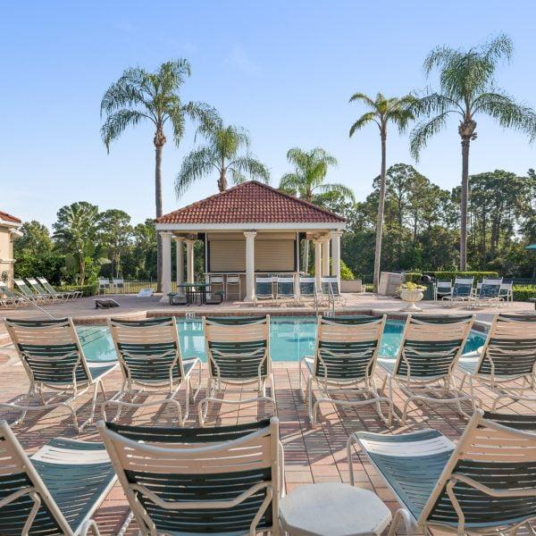Emerald Island Poolside Seating