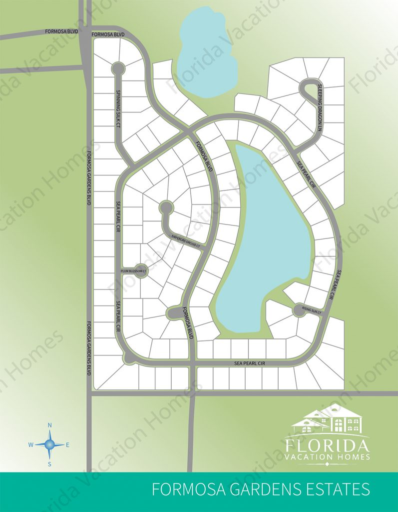 Formosa Gardens Estates Map