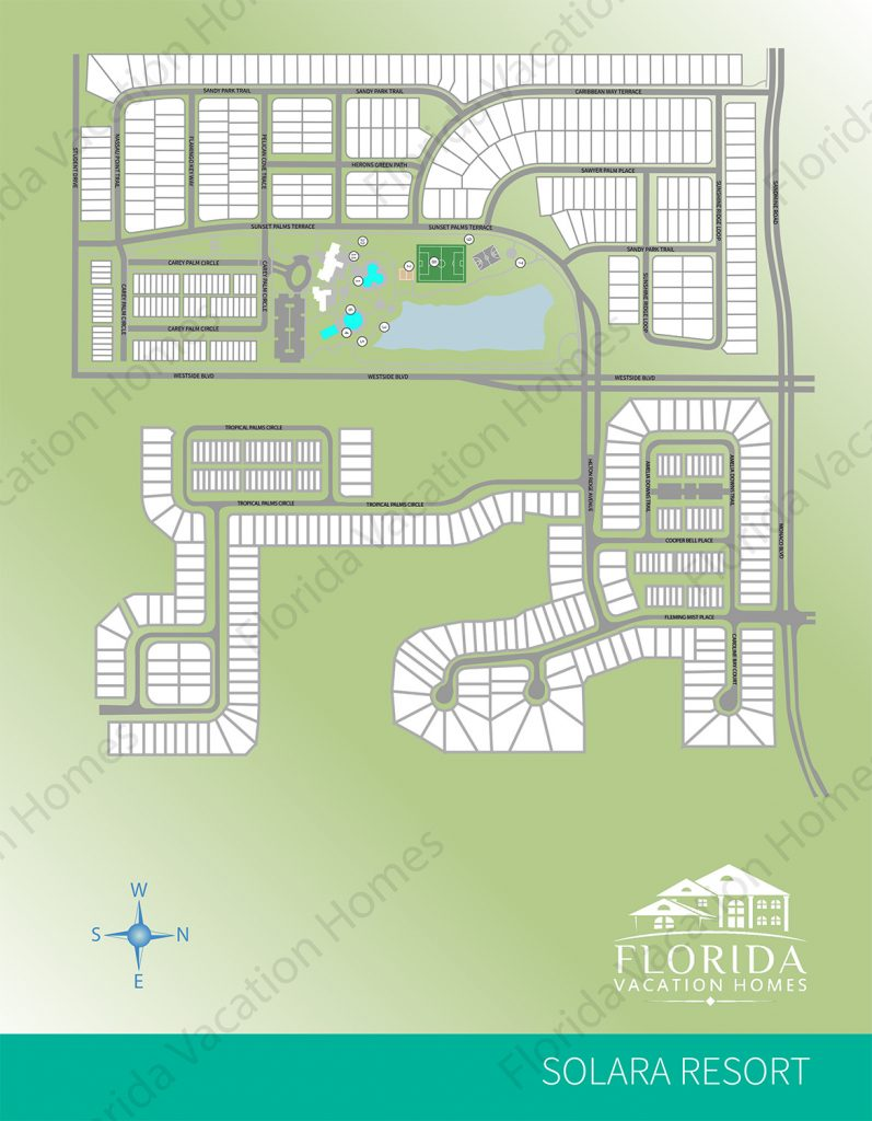 Solara Resort Map