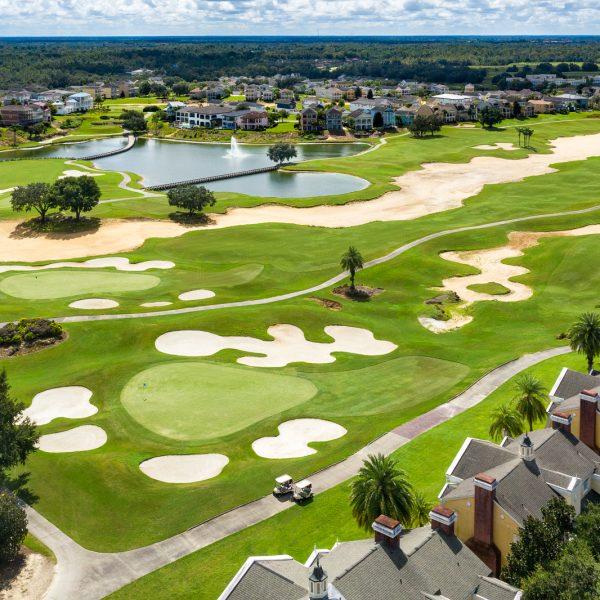 Reunion Resort Golf Aerial