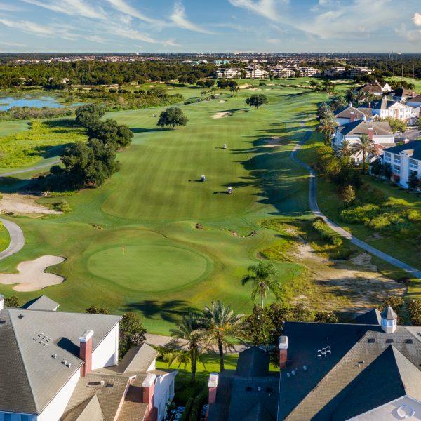 Aerial of Reunion Resort Golf