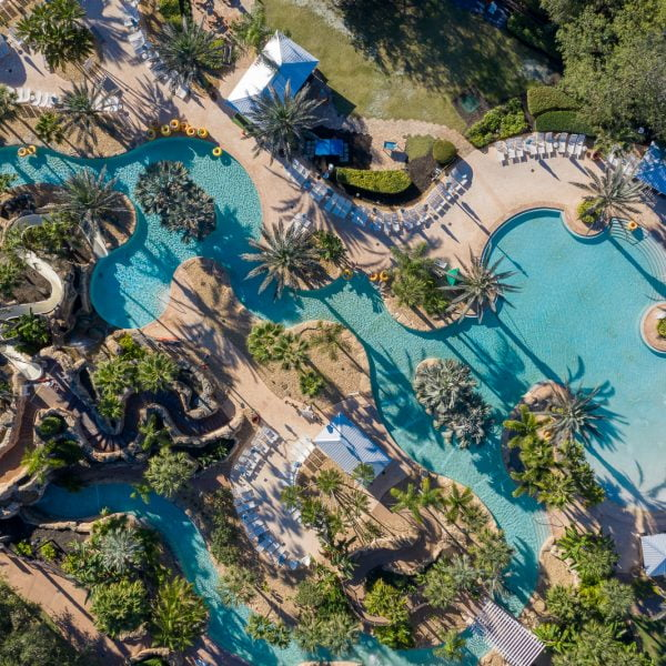 Aerial of the Reunion Water Park