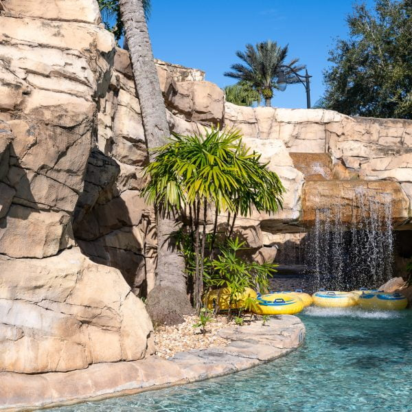Reunion Water Park Lazy River with Waterfall